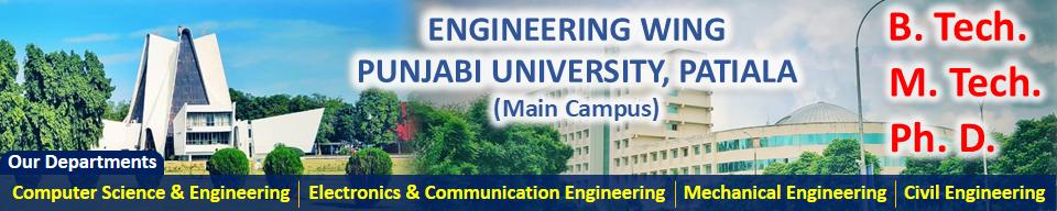 Engineering Wing, Punjabi University, Patiala